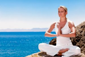 PTSD management strategies include meditating
