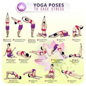 Yoga to ease stress
