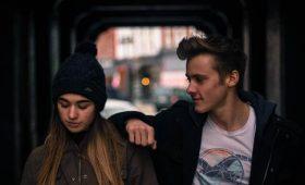 suicide prevention couple talking